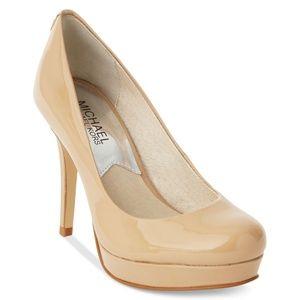 72482115c15b Michael Kors Shoes - Michael Kors Ionna Pump - Nude